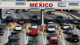 Frontera con Mexico