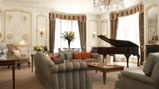 Suite 212 de Claridge's