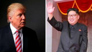 Donald Trump kulia na Kim Jong un wa Korea kaskazini