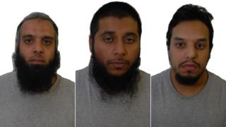Three group on hearing are 'known terrorists'