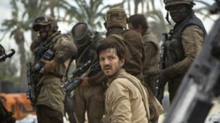 Diego Luna as Cassian Ando in the film Rogue One