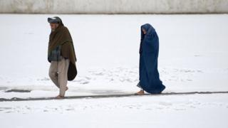 افغان مېرمن