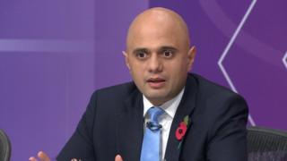 Sajid Javid on Question Time