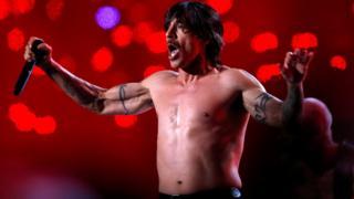 Chili Peppers singer hospitalised