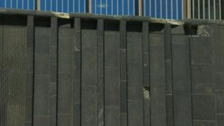 Problems with the basalt cladding were first noticed at the end of 2014