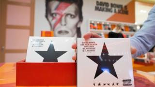 """The new album of British singer David Bowie """"Blackstar"""""""