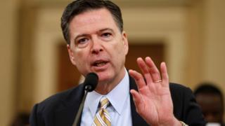 El director del FBI, James Comey.
