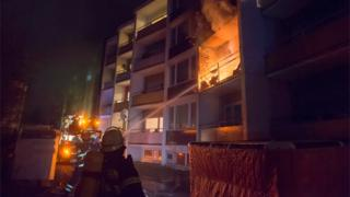 Fire at asylum shelter in Bad Homburg - February 2017