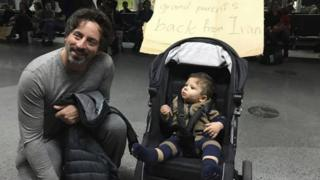 Sergey Brin at SFO