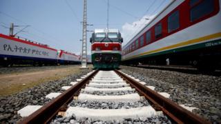 new Addis Ababa to Djibouti railway system