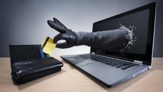 Image depicting online fraud