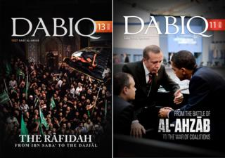 Copies of Dabiq