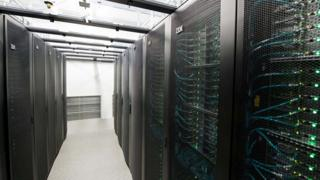 Computer servers.