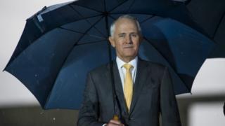 Australian PM Malcolm Turnbull (25 Jan 2016)
