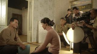 North Korea Film set