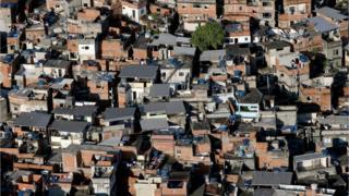 One of Rio's favelas