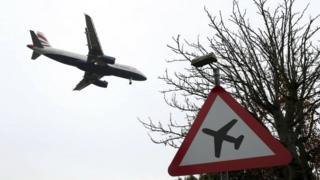 Самолет ВА заходит на посадку