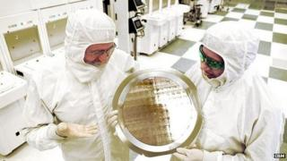 IBM chip lab