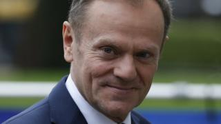 Donald Tusk before EU summit 9 March