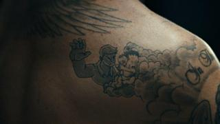 David Beckham tattoos come to life for child abuse campaign