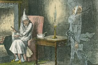 Vignette from 'A Christmas Carol' by Charles Dickens