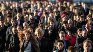 Gente en una calle