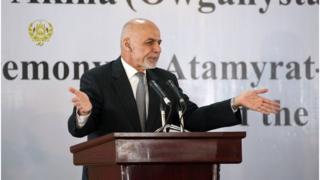 رئیس جمهوری افغانستان بازهم خواستار اقدام پاکستان برای بازگشت امنیت به کشورش شد