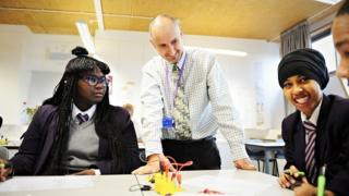 Encouragement from a teacher is key to ensuring pupils continue with their studies, say researchers