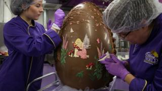 A giant easter egg.