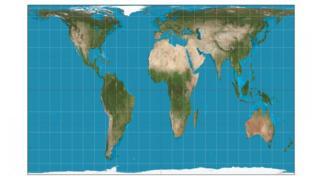 Mapa de Gall Peters.
