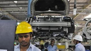 Toyota plant in Bidadi, India