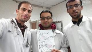 Dr Mohammed Ziara, Dr Hasan Mustafa and Dr Mohammed Abu Selmia