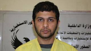 Bakr Madloul as a prisoner today