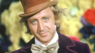 Gene Wilder interpretando al personaje de Willy Wonka.