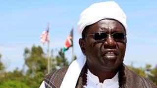 Malik Obama in Kenya, 2012