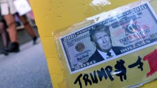 Trump en billete