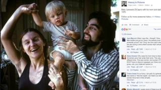 The DiCaprio family