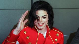 Pop star Michael Jackson in a 1996 file photo