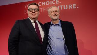 Tom Watson Jeremy Corbyn