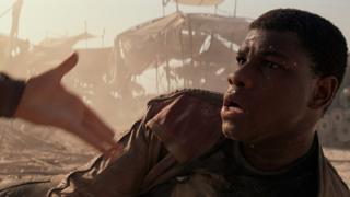 John Boyega in Star Wars