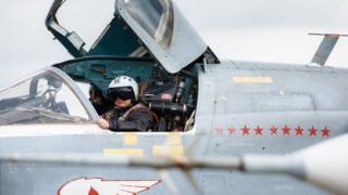 Российский пилот в Сирии