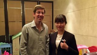 Rob Young with Yilin