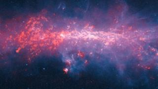 Gas clouds in the southern Milky Way