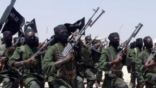 Al-Shabab fighters in Somalia in 2011