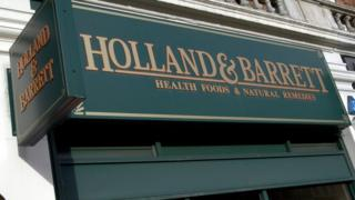 Holland & Barrett sign