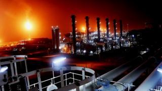 تاسیسات گاز ایران در پارس جنوبی