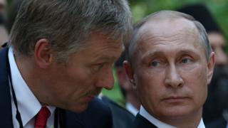 دیمیتری پسکوف، سخنگوی ولادیمیر پوتین