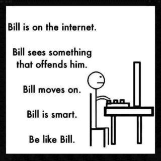 Bill - a stick man