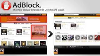 AdBlock screengrab