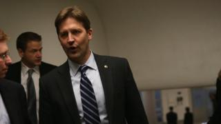 Republican Senator for Nebraska Ben Sasse on 26 January 2015 on Capitol Hill in Washington, DC